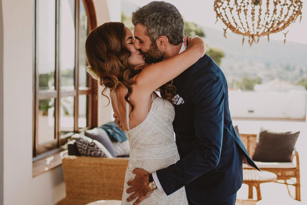 first look salina wedding