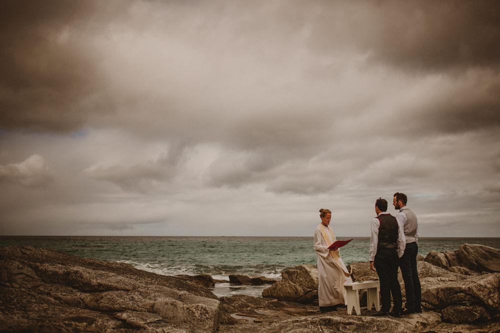 outdoor wedding in norway