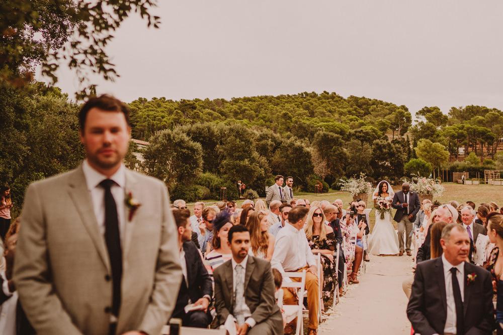 outdoor wedding in barcelona