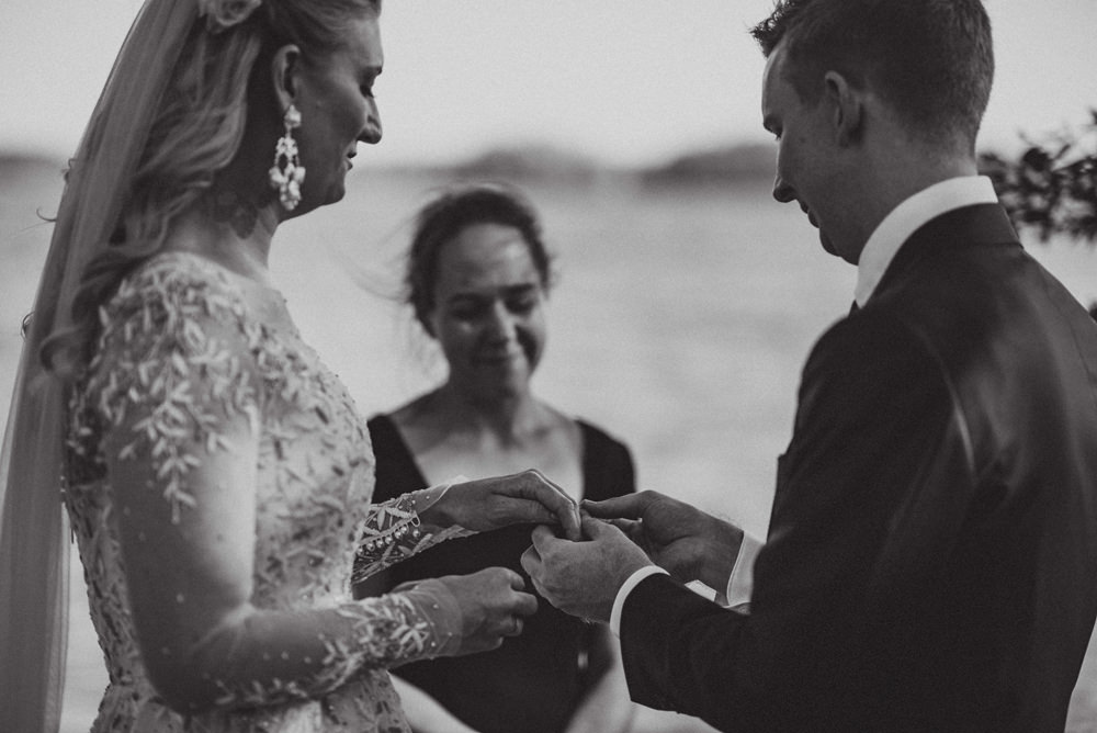 outdoor wedding in Mikkeli